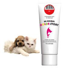 Dog Hair Dye Hair Coloring Hair Bleach Professional for Stylish Pet Red 50ml