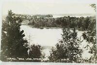 Aitkin Minnesota Hammel Bass Lake 1939 to St Paul MN RPPC Real Photo Postcard J4