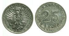 pci0409) Regno Vittorio Emanuele III 25 centesimi valore 1903