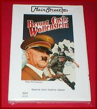 Beyond Castle Wolfenstein for the IBM-PC XT Computer NEW SEALED