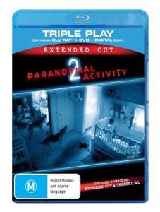 Paranormal Activity 2 (Blu-ray, 2011, 2 Discs) Sprague Grayden, Seth Ginsberg