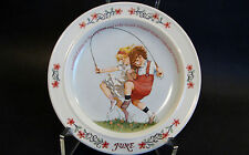 Sarah Stilwell Weber Calendar Collection Plate *June* # 497A 1984 W.Virginia USA