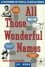 All Those Wonderful Names : A Potpourri of People, Places, and Things by J. N. H