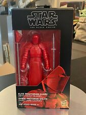 Star Wars Black Series Elite Praetorian Guard Heavy Blade NEW SEALED AFA READY