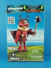 Playmobil Dragons Snotlout With Flight Suit Building Set 70043  NEW IN STOCK