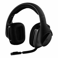NEW LOGITECH G533 GAMING HEADSET WITH WIRELESS DTS 7.1 SURROUND SOUNS - BLACK