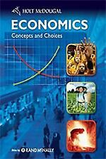 Economics: Concepts and Choices: Student Edition 2011 MCDOUGAL LITTEL