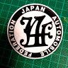 Black Japan Automobile JAF grille emblem Toyota Chaser Corolla Crown Soarer TRD
