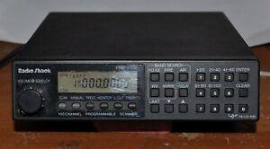 VINTAGE RADIO SHACK MODEL 20-148A 100 CHANNEL SCANNER RECEIVER PRO-2026 GOOD