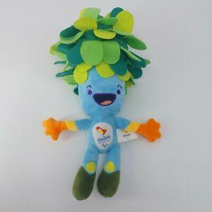 2016 Rio Brazil Olympics Mascot Tom The Tree Soft Plush Toy