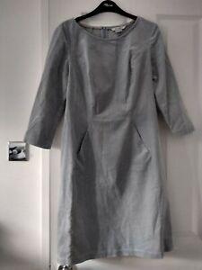 BODEN cordoruy dress front pockets size 10R