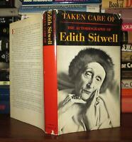 Sitwell, Edith TAKEN CARE OF The Autobiography of Edith Sitwell 1st Edition 2nd