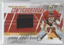 2010-11 ITG Heroes and Prospects Net Jumbo Silver Jersey Oliver Roy #NPM-03
