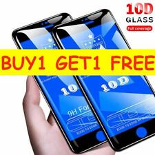 100% 10D Genuine Tempered Glass Screen Protector Protection For iPhone 6 / 6S
