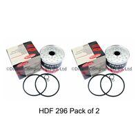 Delphi 7111-296 Fuel Filter pack of 2
