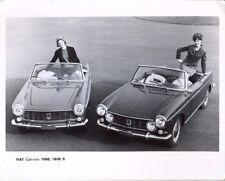 Fiat 1500 1600S Cabriolet original official press photo