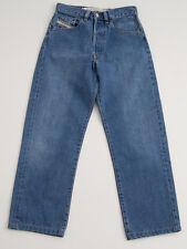 MENS DIESEL PHAZER JEANS STRAIGHT LEG BLUE STONEWASHED SIZE W27 L25 27/25 VGC