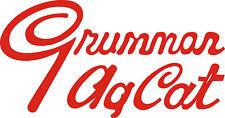 """Grumman Ag Cat Aircraft! Sticker/Decal 7.2"""" wide by 3.8"""" high!"""