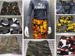 Military Style Combat Cargo / Utility / Camo / Multicam Skirts Assorted Colours