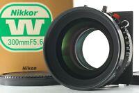 【Read! MINT in Box】 Nikon Nikkor W 300mm F/5.6 Copal 3 Shutter Lens from Japan