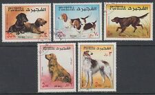 Fujeira 1970 Mi.602/06 A fine used c.t.o. Hunde Dogs