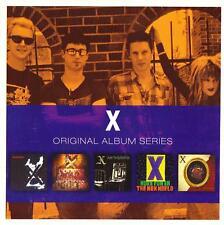 X – Original Album Series 5CD Set 2011 Rhino Records UK – 8122 79762 7