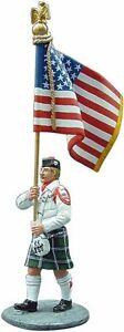 Del Prado 1/32 Figure Fireman - ceremonial dress - USA - 2003 BOM107