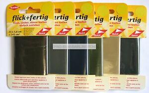 Nylon Repair Tape Patch Self Adhesive 25cms x 5cms ( Choice Of Colour )