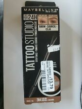 Maybelline TattooStudio Brow Pomade Long Lasting Buildable Eyebrow Makeup Auburn