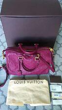 Authentic Louis Vuitton Speedy Bandouliere Monogram Empreinte Leather Bag 30