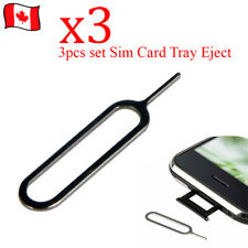 3pcs/Set Sim Card Tray Remover Eject Pin Key Tool for Cellphone
