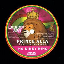 "REGGAE 7"" SLI022 Prince Alla - No Kinky King/Kinky Dub"