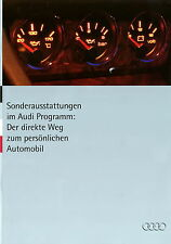 Audi adquirirán 1994 1/94 folleto brochure 80 100 s2 s4 avant Coupe