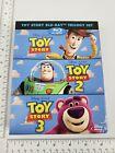 Toy Story Trilogy Blu-Ray Set - Japanese Version - Ships from USA