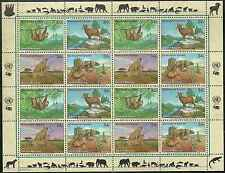 Timbres Animaux Nations Unies New York F 872/5 ** année 2002 lot 4160