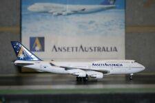 Dragon Wings 1:400 Ansett Boeing 747-400 VH-ANB (55213) Die-Cast Model Plane