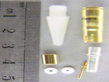 4 Amphenol 21-033011-026 Au. Coax Crimp Sockets