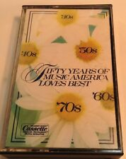 50 YEARS OF MUSIC AMERICA LOVES BEST Tape Cassette 2 PLEASURE PROGRAMMED DIGITAL