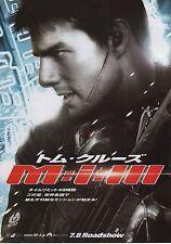 Mission Impossible 3 - Original Japanese Chirashi Mini Poster B - Tom Cruise