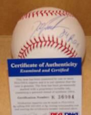 Dwight Gooden Autograph baseball psa/dna 84 roy  Mets