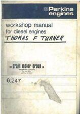 PERKINS DIESEL ENGINE 6.247 WORKSHOP SERVICE MANUAL