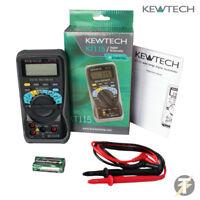 Kewtech KT115 Digital Multimeter 600Volts  AC/DC Data Hold