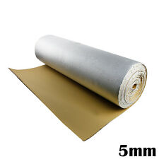 Sound Heat Shield Automotive Noise Control Reflective Foil Foam Insulation 5MM