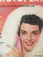 Vintage Collectible Movie Magazine Photoplay Jane Russell Cover December 1955