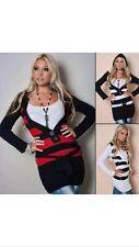 Damen-Pullover mit V-Ausschnitt aus Acryl