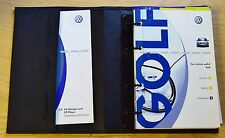 VW GOLF Mk4 HANDBOOK OWNERS MANUAL WALLET 1997–2003 RADIO GAMMA PACK 14381