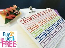 PP048 -- Pay Bill Reminder Box Life Planner Stickers for Erin Condren (24 pcs)