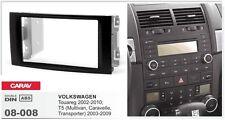 CARAV 08-008 2Din Kit de instalación de radio VW Touareg 2002-2010; T5 2003-2009