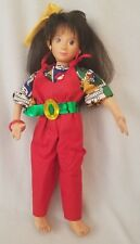 "Vintage 1986 Mattel Hot Looks Stacey Doll Toy Brunette 18"" Soft Posable Body"
