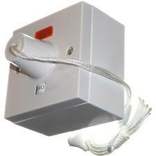 Cliquez sur PRW210 45 Amp douche Tirette Commutateur avec néon et ON OFF Indicateur 45 A
